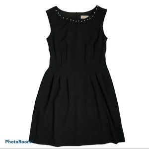 ‼️ BOGO ‼️ Laura Petites Pearl Collar Black Dress